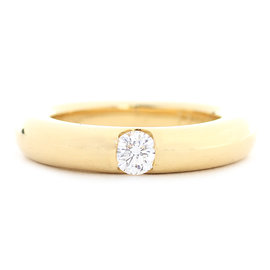 Cartier 18K Yellow Gold Ring Size 4.75
