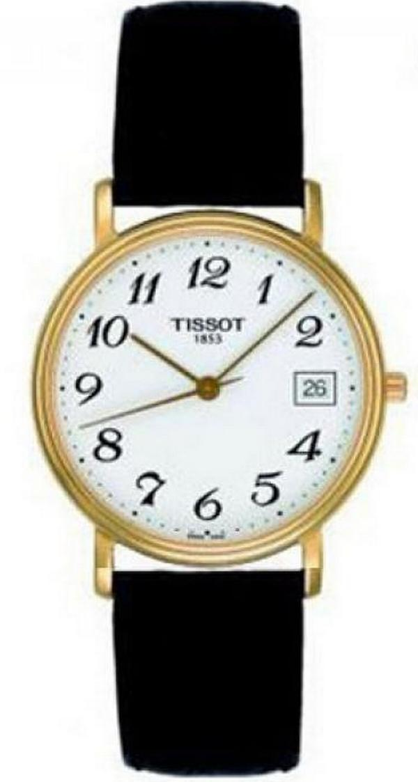 "Image of ""Tissot T52.5.421.12 Gold Tone Stainless Steel 34mm Mens Watch"""