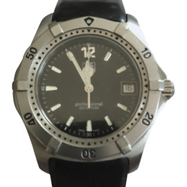 Tag Heuer Classic Diver WK1110-1 Vintage Stainless Steel 2000 37.5mm Watch