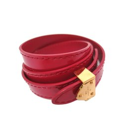 Louis Vuitton Leather Bracelet