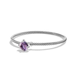 David Yurman Chatelaine Bracelet with Amethyst and Diamonds