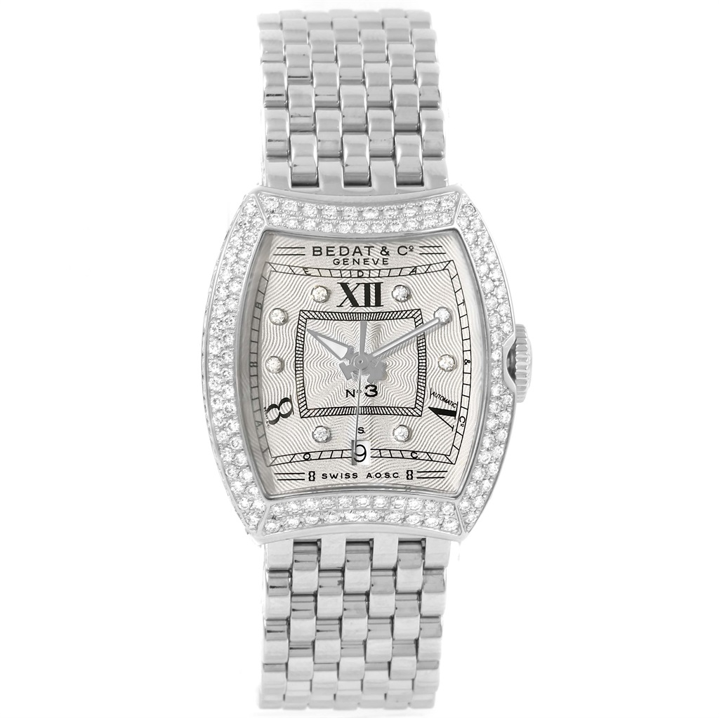 "Image of ""Bedat & Co. 314.051.109 No. 3 Stainless Steel Diamond Automatic 27.5mm"""