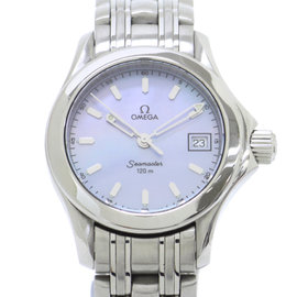 Omega Seamaster Stainless Steel Quartz 26mm Womens Watch