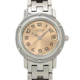 Hermes Clipper CL4 .210 Stainless Steel Quartz 25mm Womens Watch