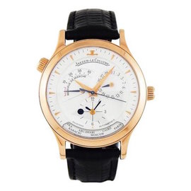 Jaeger-LeCoultre Master Control 18K Rose Gold Automatic 39mm Mens Watch