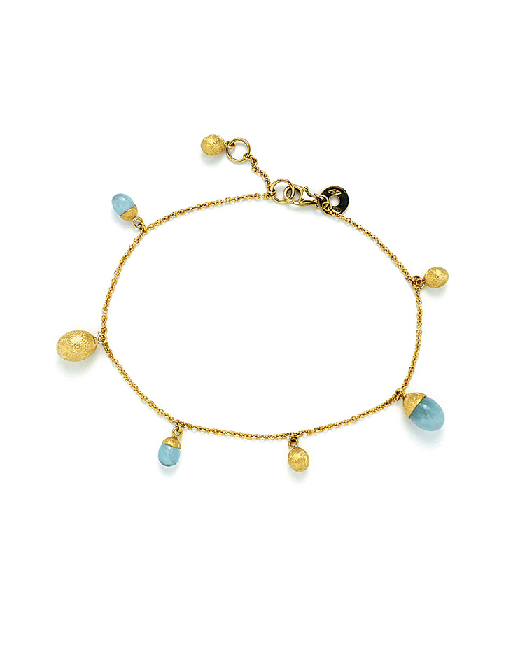 "Image of ""Dancing in the Rain Gold 18kt Bracelet"""