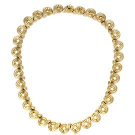 Boucheron 18K Yellow Gold Choker Necklace