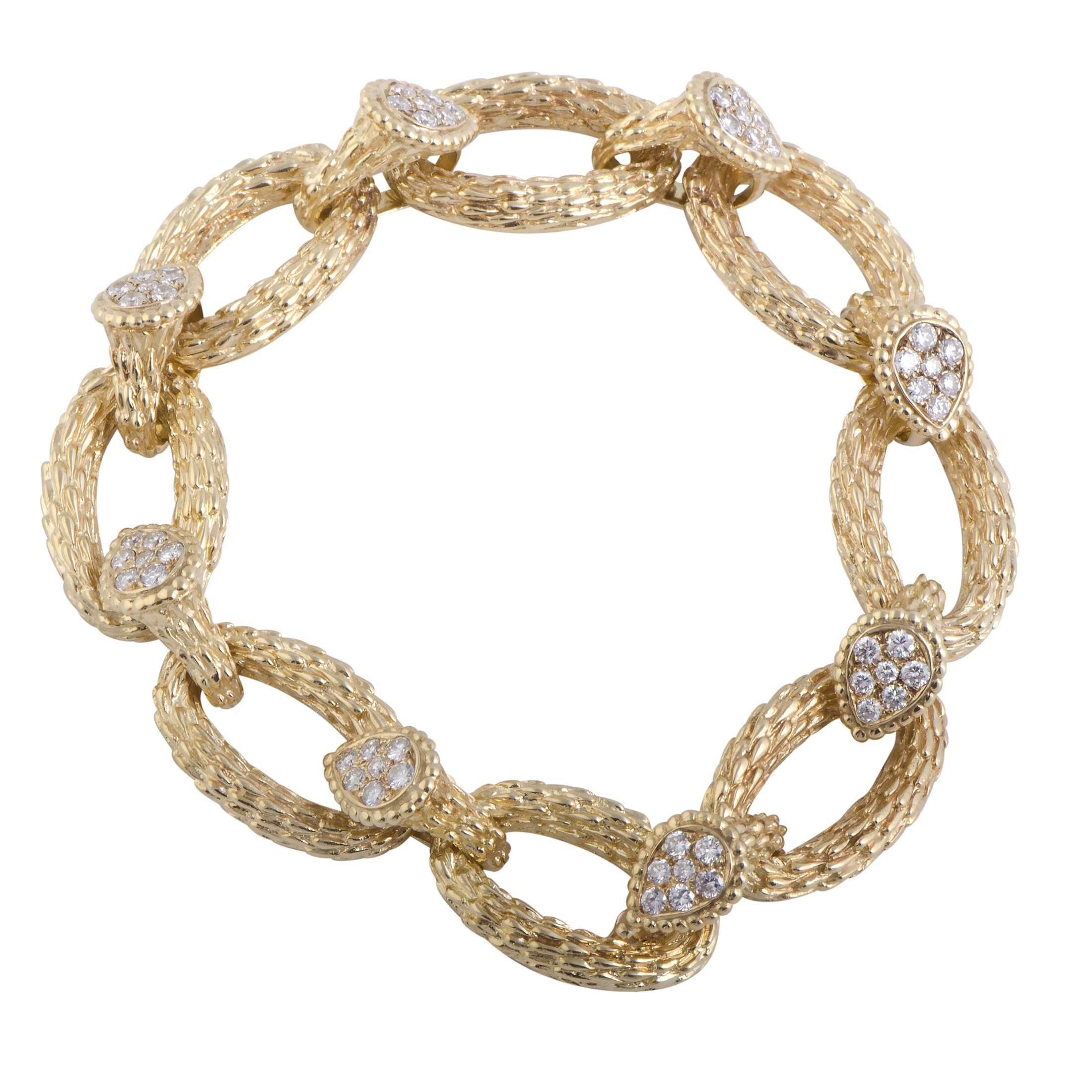 "Image of ""Boucheron 18K Yellow Gold with Diamond Serpent Bohème Toi et Moi"""