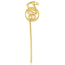 Boucheron 18K Yellow Gold Long Tail Snake Pendant
