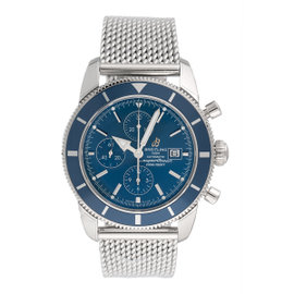 Breitling Superocean Heritage Chrono A1332016/C758 SS Blue Dial 46mm Mens Watch