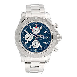Breitling Super Avenger II A1337111/C871SS Stainless Steel Automatic 48mm Mens Watch