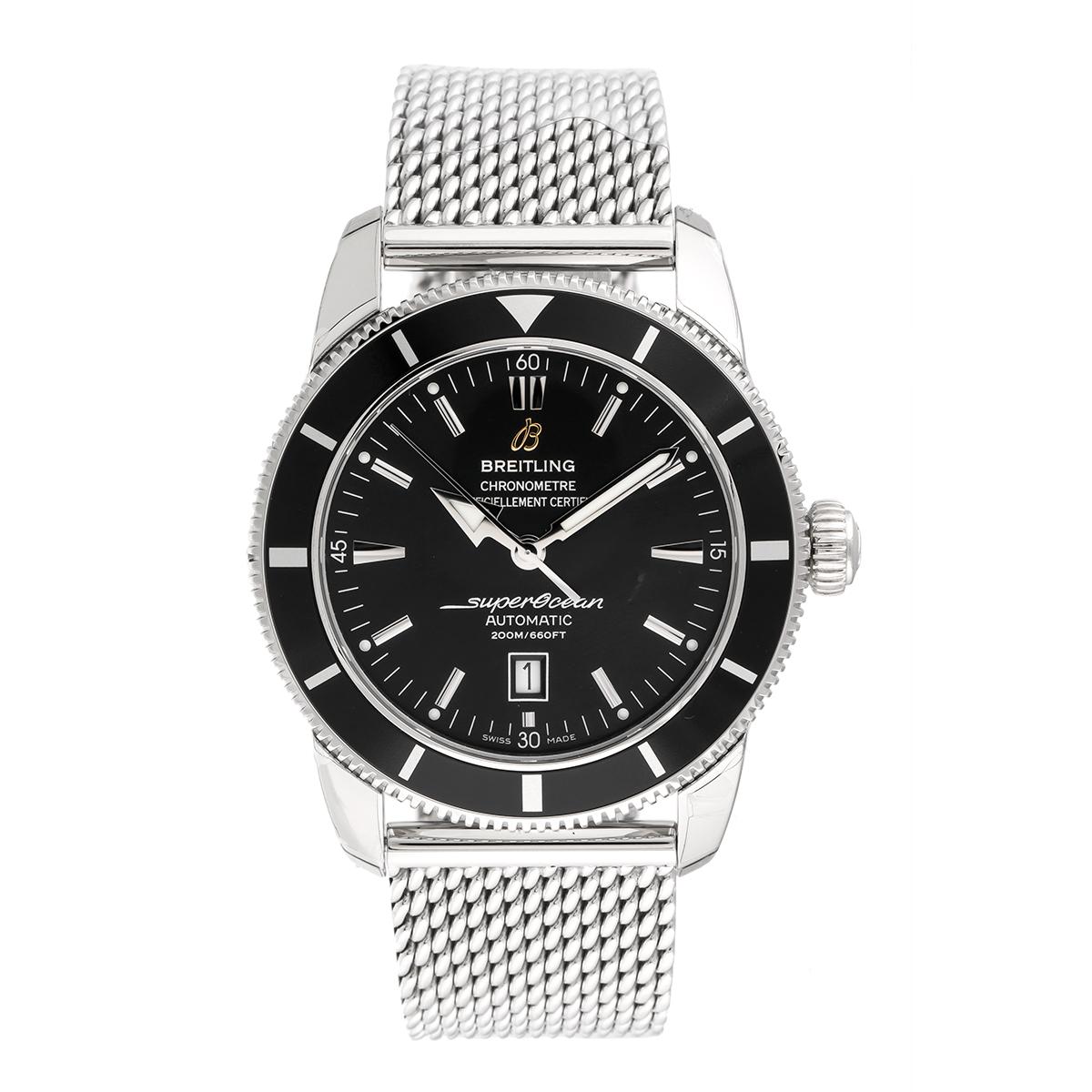 breitling aeromarine superocean heritage stainless steel automatic 46mm menu0027s watch
