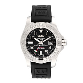 Breitling Avenger II Seawolf A1733110-BC31BKPD3 Stainless Steel Rubber Automatic 45mm Men's Watch