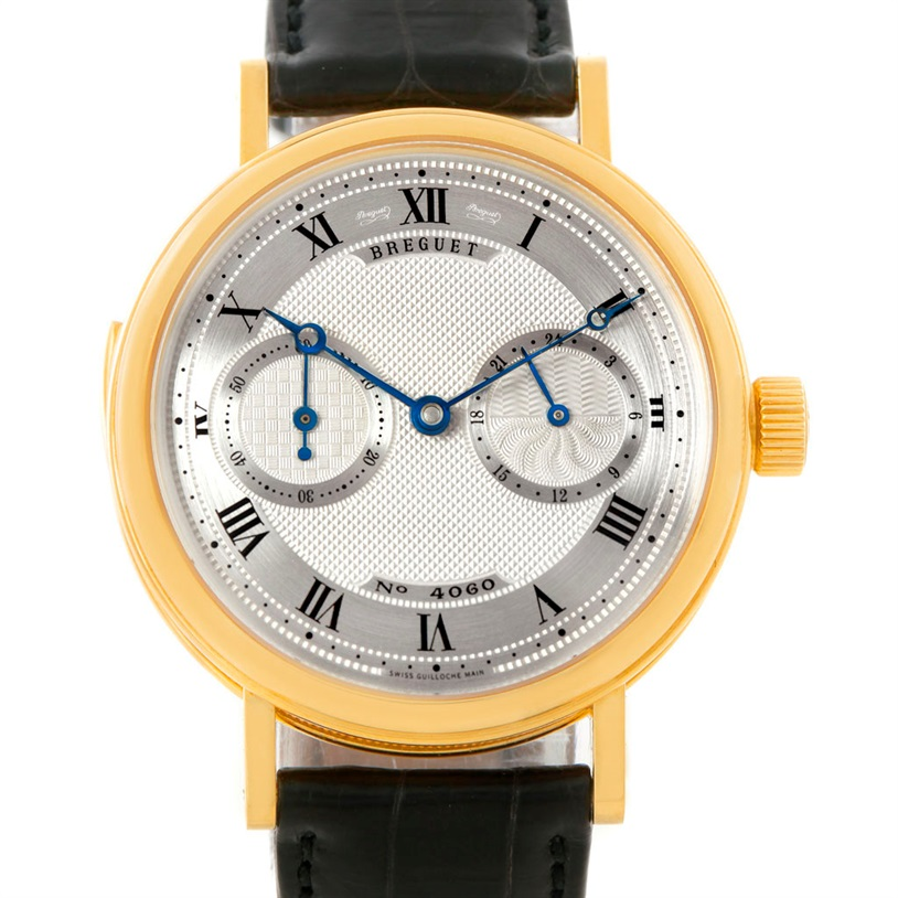 """Image of """"Breguet Minute Repeater 3637 18K Yellow Gold & Leather Manual 36mm"""""""