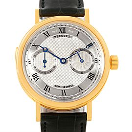 Breguet Minute Repeater 3637 18K Yellow Gold & Leather Manual 36mm Mens Watch