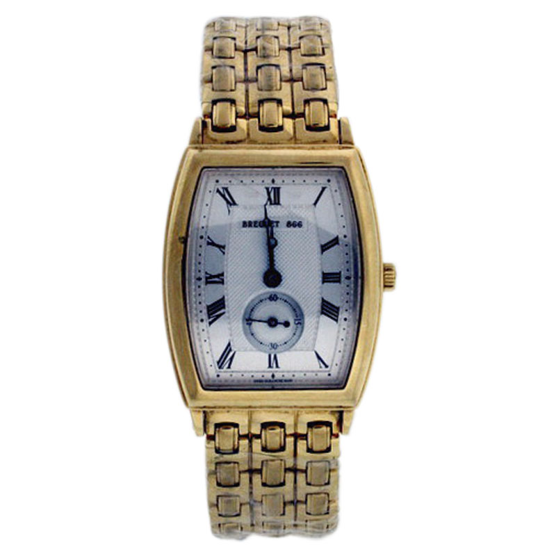 "Image of ""Breguet Heritage 3670Ba/12/abo 18K Yellow Gold 29mm x 35mm Watch"""