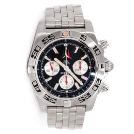 Breitling AB01104D/BC62 Chronomat 44 Fleece Tricolor Stainless Steel Watch
