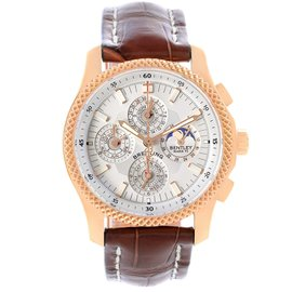 Breitling Bentley Mark VI 29 Complications H29363 Rose Gold 42mm Mens Watch