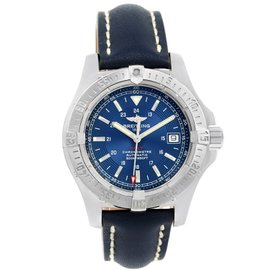 Breitling Colt A17380 Automatic Stainless Steel Blue Dial 41mm Mens Watch