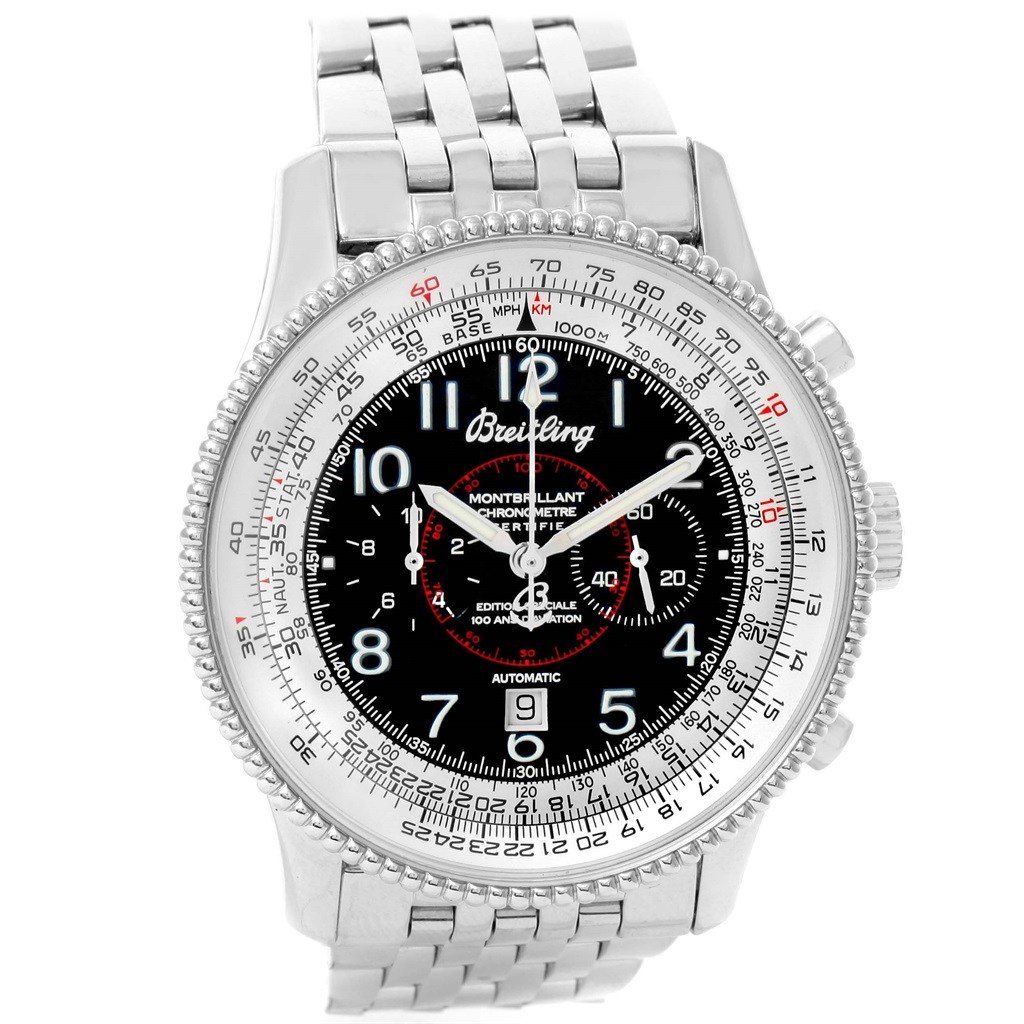 """Image of """"Breitling Navitimer Montbrillant A35330 Stainless Steel Automatic"""""""