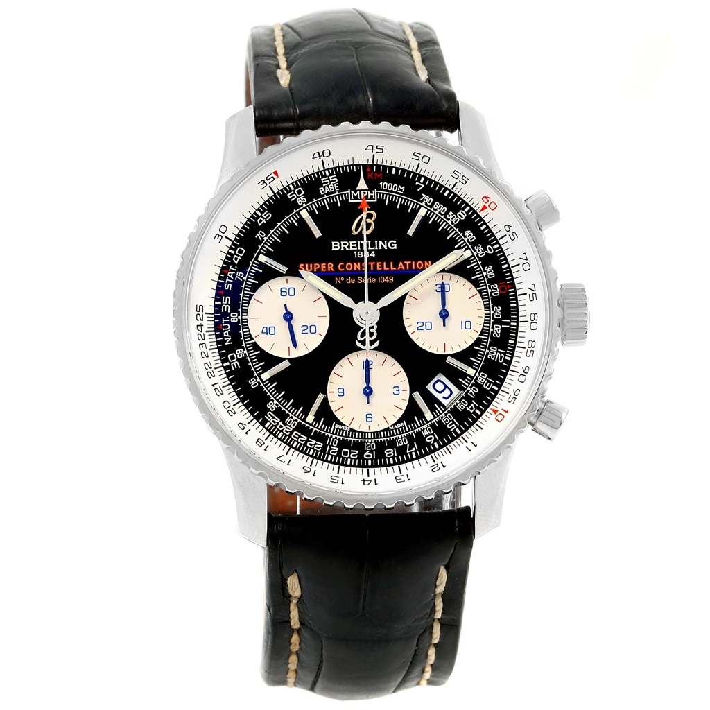 """Image of """"Breitling Navitimer Super Constellation A13322 Stainless Steel 42mm"""""""