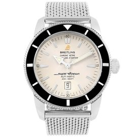 Breitling Superocean Heritage A17320 Stainless Steel Silver Dial Automatic 42mm Mens Watch