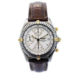Breitling Chronomat B13049 Stainless Steel And Yellow Gold Mens Watch