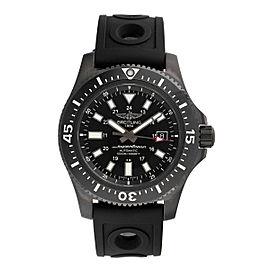 Breitling Superocean M1739313-BE92BKORT Black Stainless Steel Automatic 44mm Men's Watch