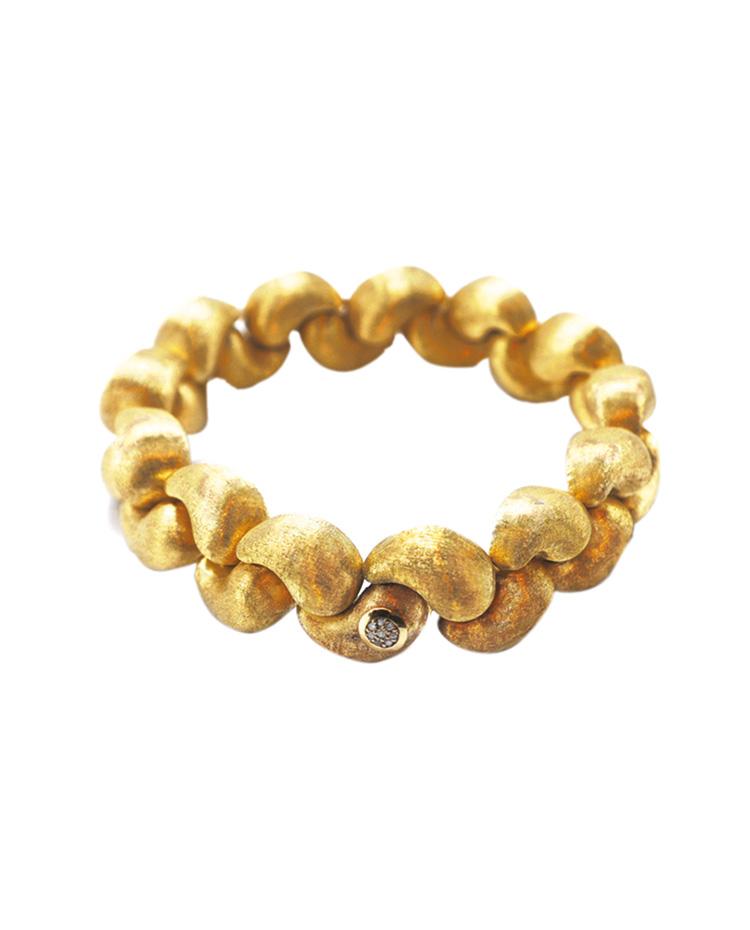 "Image of ""Cachemire Gold 18kt Bracelet"""