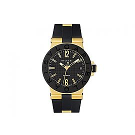 Bulgari Diagono DG35BGVD Yellow Gold 35mm Watch