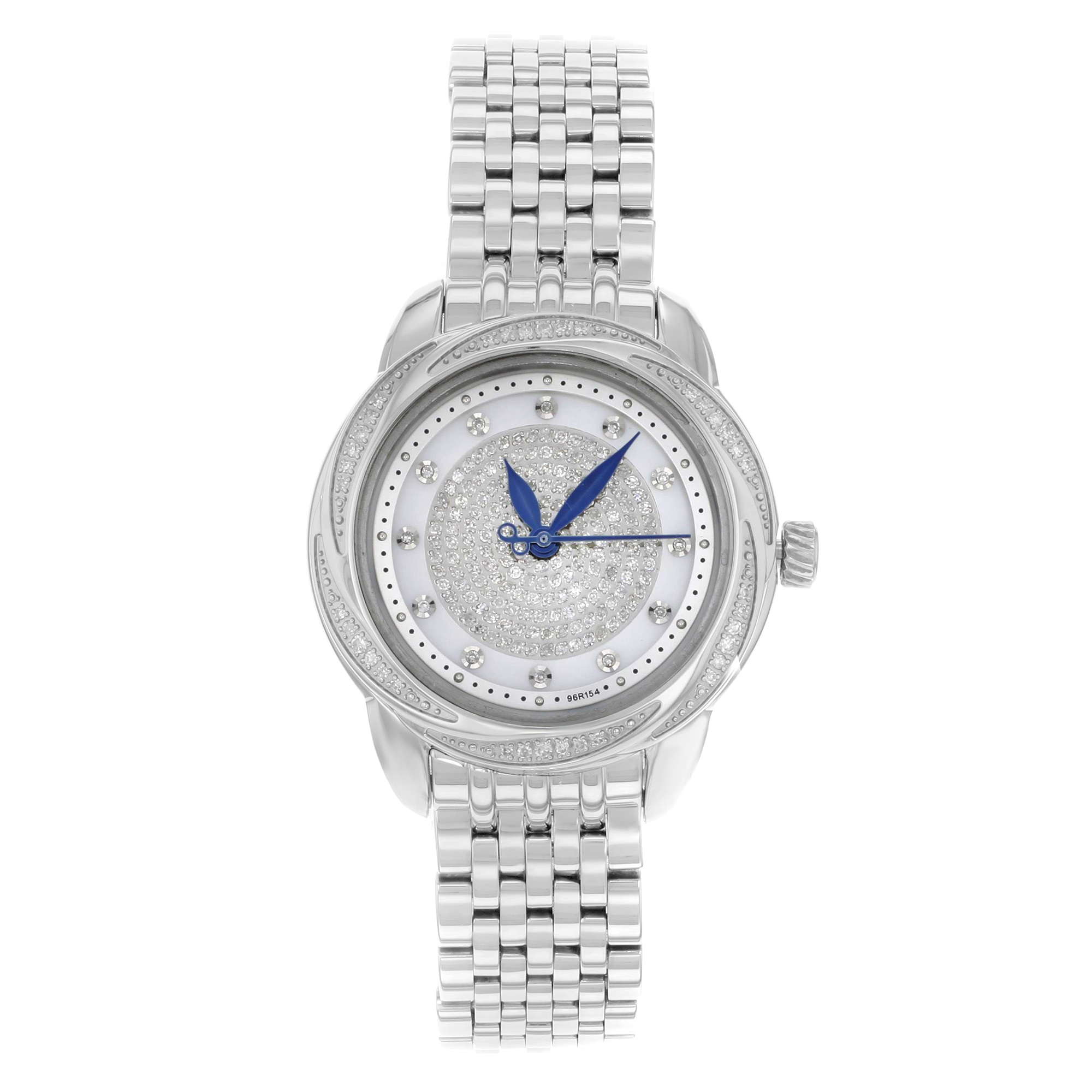 "Image of ""Bulova Precisionist Brightwater 96R154 Stainless Steel Quartz 31mm"""