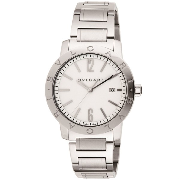 "Image of ""Bvlgari Bulgari Bb42Wssdau Stainless Steel Men's Watch"""