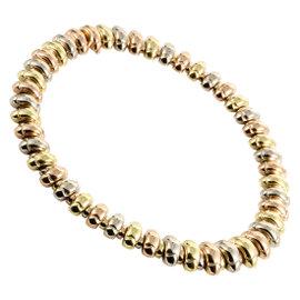Bulgari Celtica 18K Yellow White and Rose Gold Choker Necklace