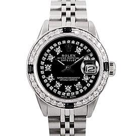 Rolex Datejust Stainless Steel & Diamond 26mm Watch