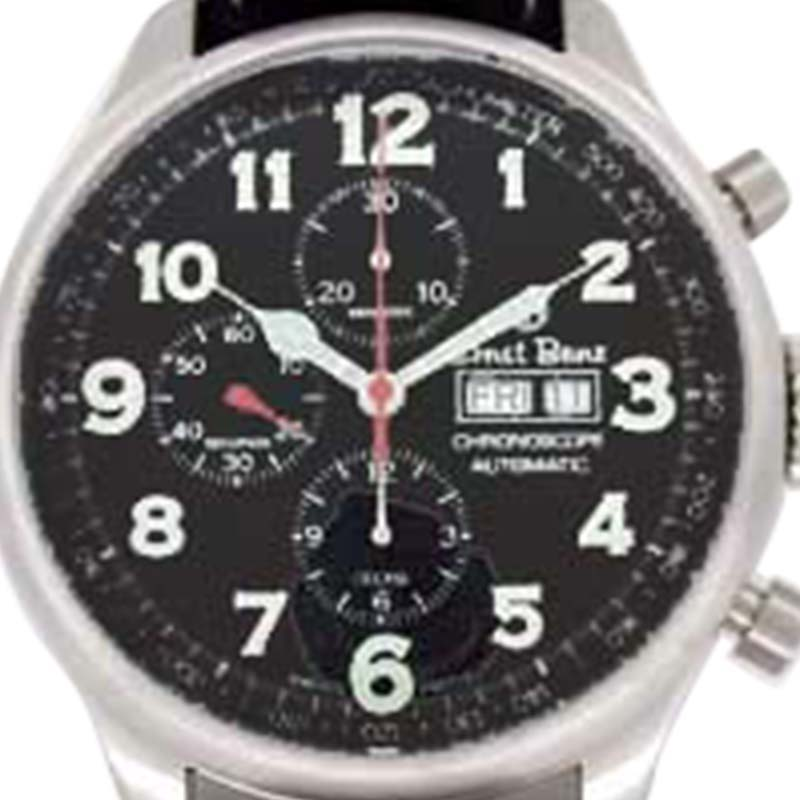 "Image of ""Ernst Benz Chronoscope Chronograph Stainless Steel Mens Watch"""