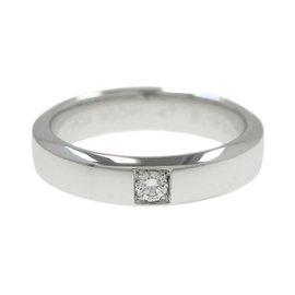 Van Cleef & Arpels Platinum Ring Size 4