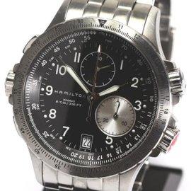 Hamilton Khaki Chronograph Stainless Steel Quartz 42mm Watch