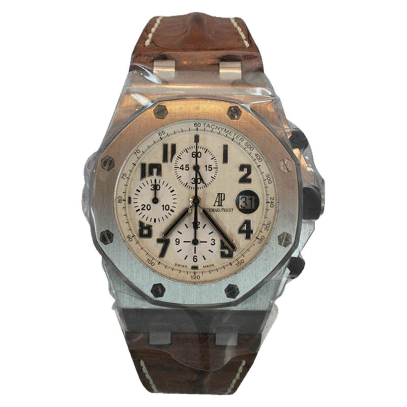 "Image of ""Audemars Piguet Royal Oak Offshore Stainless Steel Mens Watch"""
