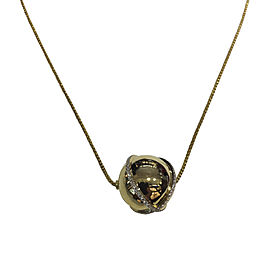 David Yurman Solari 18K Yellow Gold with 0.77ct Diamond Pendant Necklace