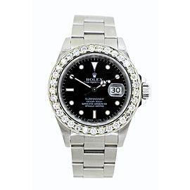 Rolex Submariner Stainless Steel & Diamond 40mm Watch