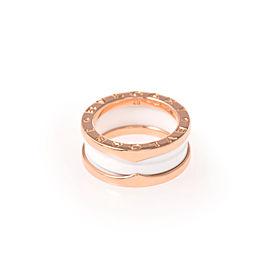Bulgari B-Zero1 18K Rose Gold Band Ring Size 4.5