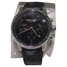 Montblanc TimeWalker 101548 Stainless Steel 43mm Mens Watch
