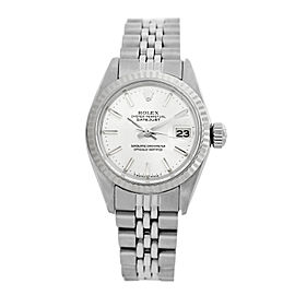 Rolex Datejust 6917 Stainless Steel & White Dial 26mm Womens Watch