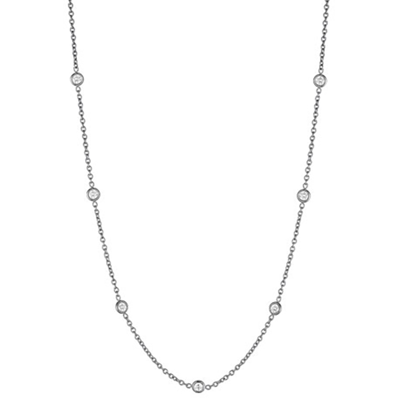 "Image of ""Penny Preville 18K White Gold with 1.0 ct. Diamond Eyeglass Chain"""