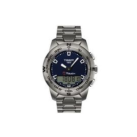Tissot T-Touch II T0474204404100 Stainless Steel 42.7mm Mens Watch