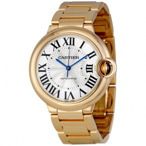 Cartier Ballon Bleu 18K Rose Gold Automatic 36mm Watch