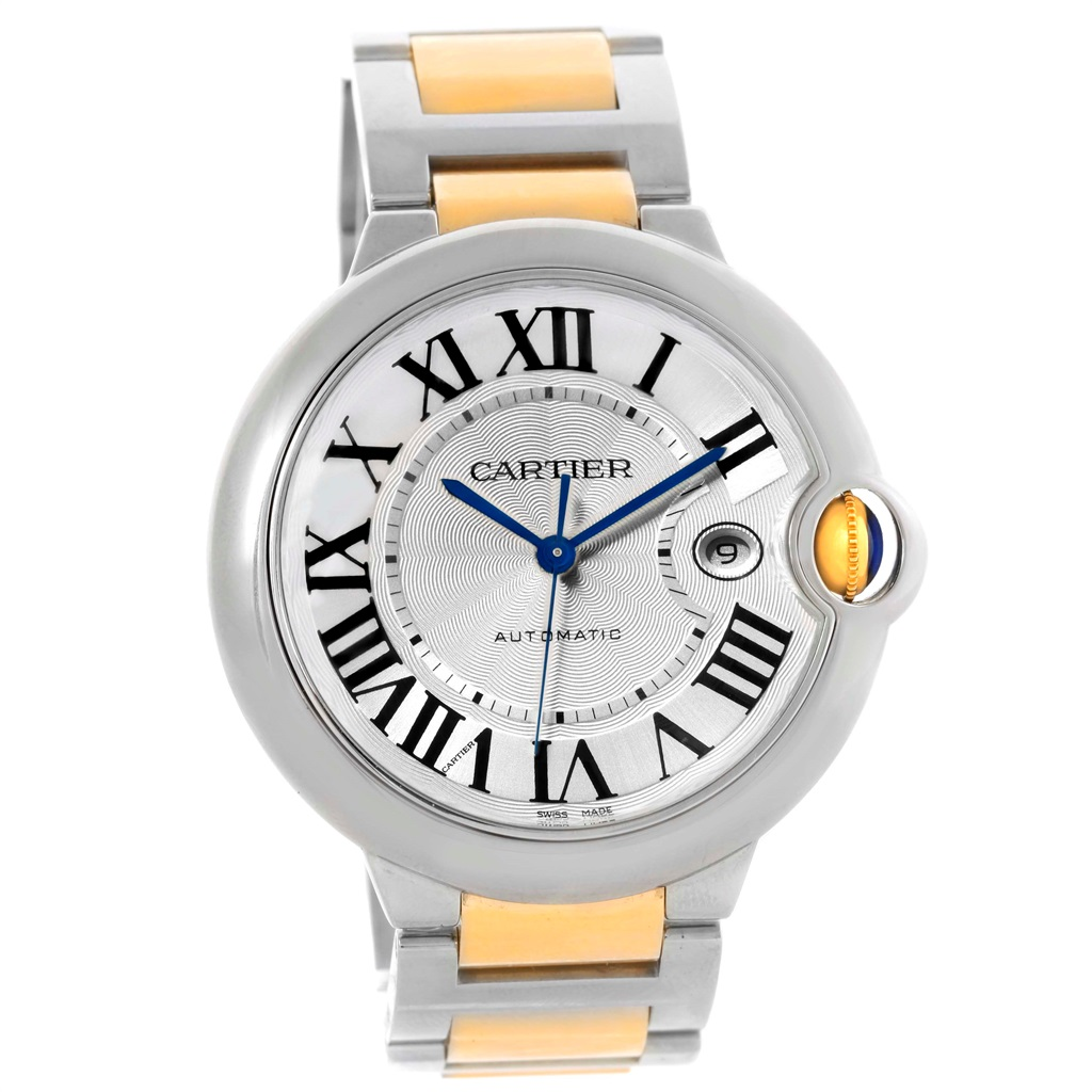Cartier Ballon Bleu W69009Z3 Stainless Steel & 18K Yellow Gold 42.1mm