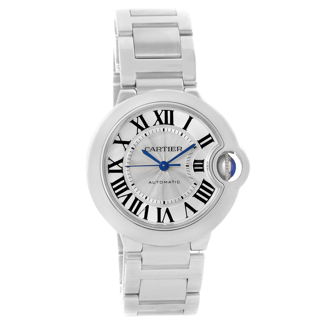 Cartier Ballon Bleu W6920046 Stainless Steel & Silver Dial 36.6mm