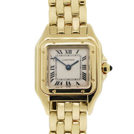 Cartier Panthere 18K Yellow Gold Champagne Dial Ladies Watch