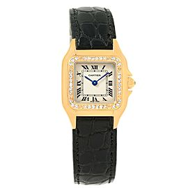 Cartier Panthere WF3070B9 18K Yellow Gold & Diamond 22mm Womens Watch
